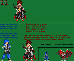 Cyber Knight Kasai No Armor