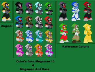 Bass and Weapon Colors