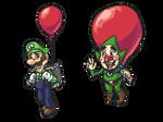 balloon fight? [Doodle]