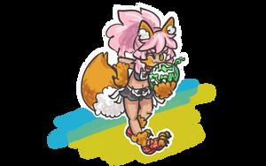 FGO - Summer Maid Tamamo Cat