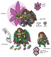 OC Servant - Ajax of Telamon (Concept)