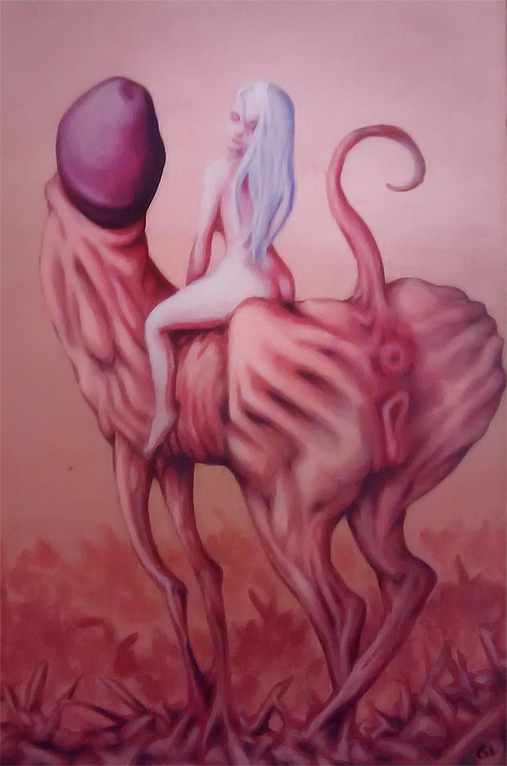 Flesh Ride by psychostinch