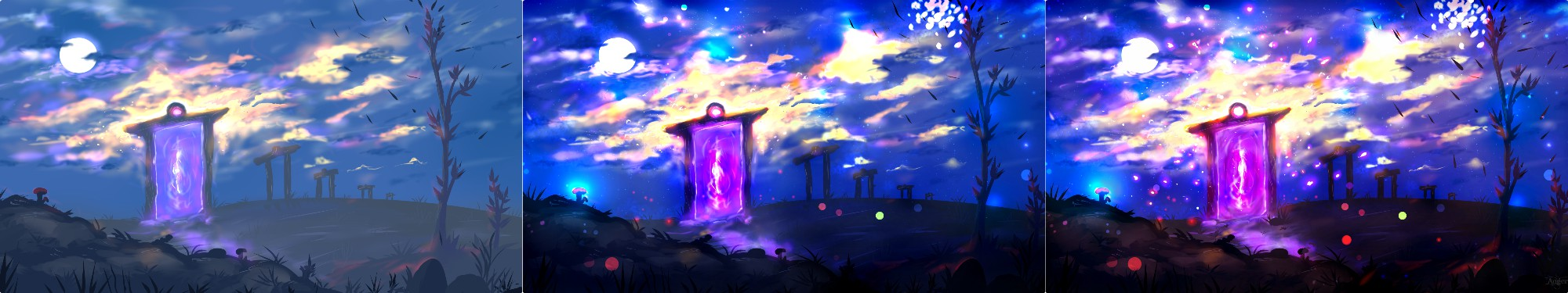 Steps In the Portal by Angerna
