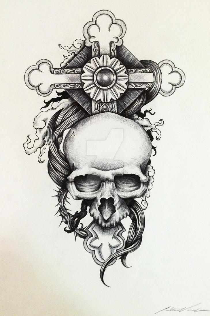 Skull Tattoo Design by Wajanja on DeviantArt