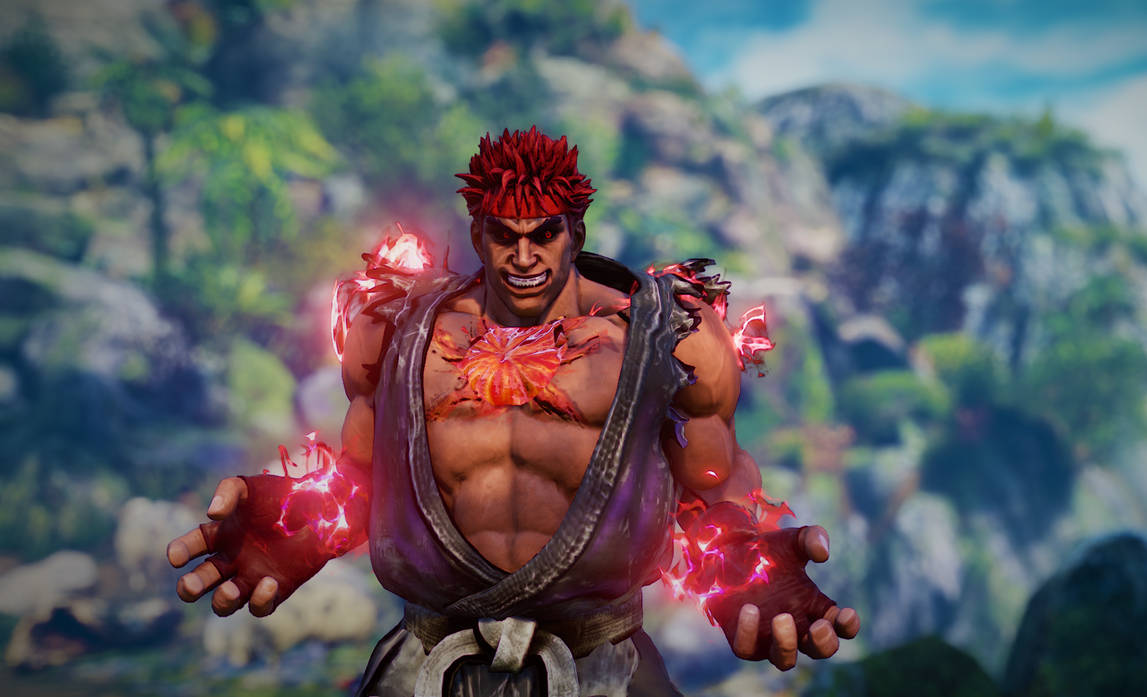 USFIV Evil Ryu Mod for Kage (Street Fighter V) by Ouji-chama