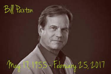 R.I.P. Bill Paxton