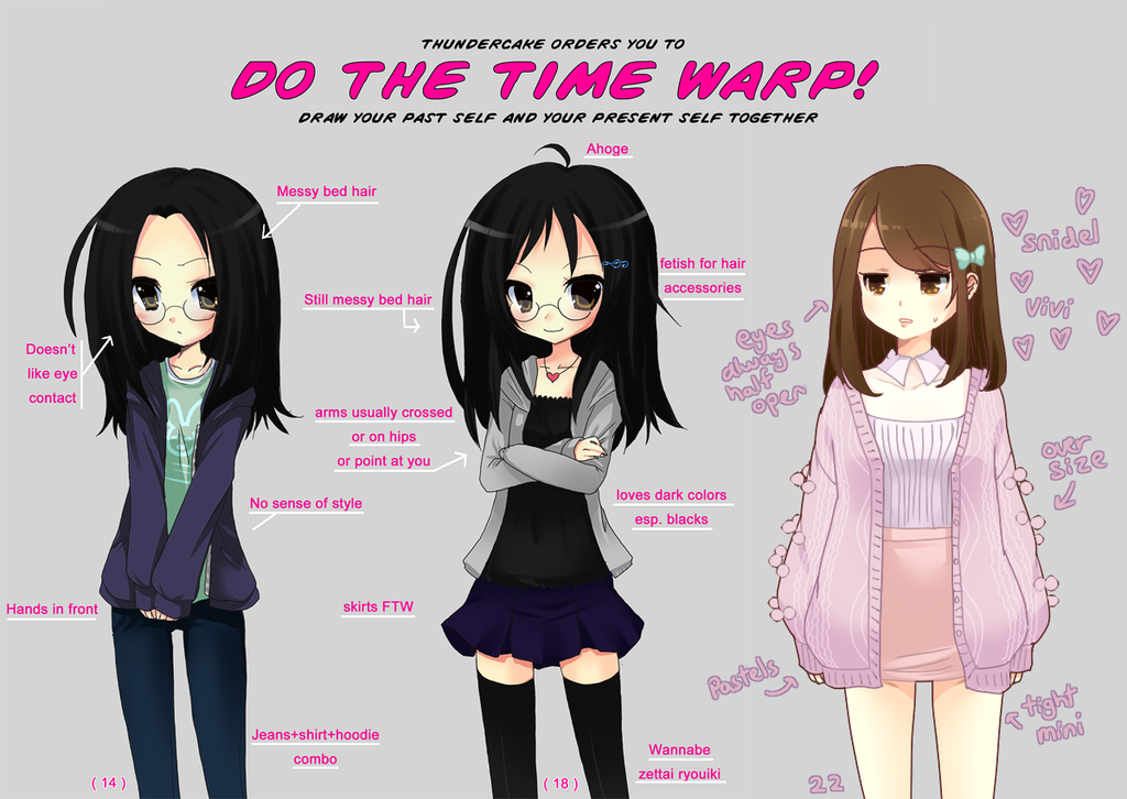 do the time warp meme redone by Moorina