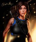 Lara Croft Fan art (Painter)