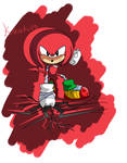 Classic Boom - Knuckles the echidna