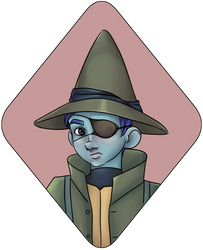 Character Portrait : Kidney the Gnome Rogue