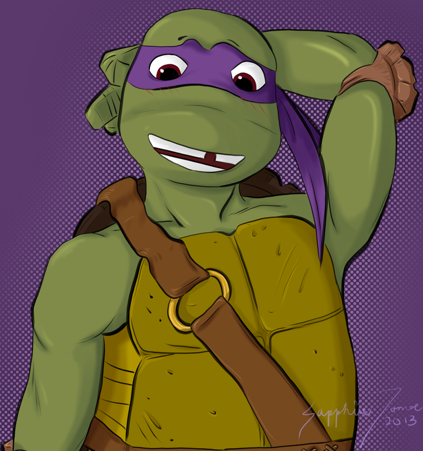 Donatello by Alchemistress666