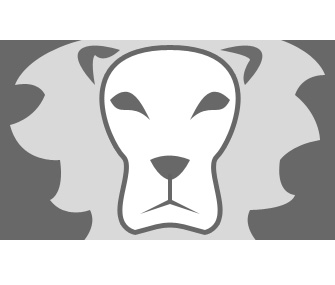 Lion Logo by Duilen