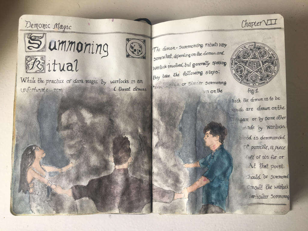 Alsko summoning ritualshabby30 on deviantart