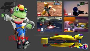 Slippy Toad Super Smash Bros. Moveset