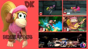Dixie Kong Super Smash Bros. Moveset