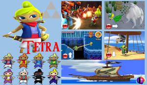 Tetra Super Smash Bros Moveset