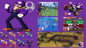 Waluigi Super Smash Bros. Moveset (Updated)
