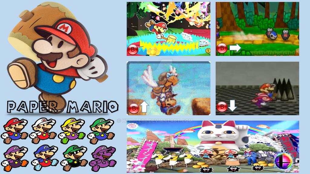 Paper Mario Super Smash Bros