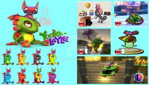 Yooka and Laylee Super Smash Bros Moveset
