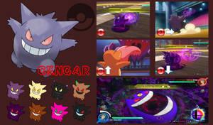 Gengar Super Smash Bros Moveset