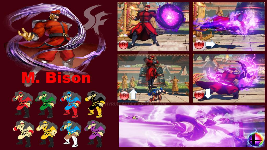 M  Bison Super Smash Bros Moveset by Hyrule64 on DeviantArt