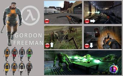 Gordon Freeman Super Smash Bros Moveset