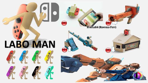 Labo Man Super Smash Bros Moveset
