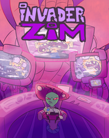 Mock Invader Zim Cover Issue #11 by Epic-Pib