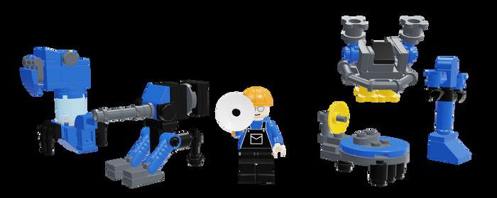 Lego Tf2 Sentry Catalog 2