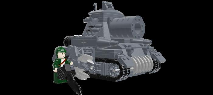 Lego Valkyrie Tank