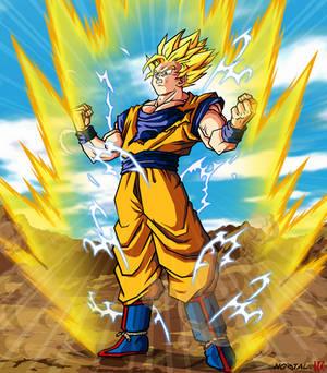 Dragonball Son Goku SSJ2