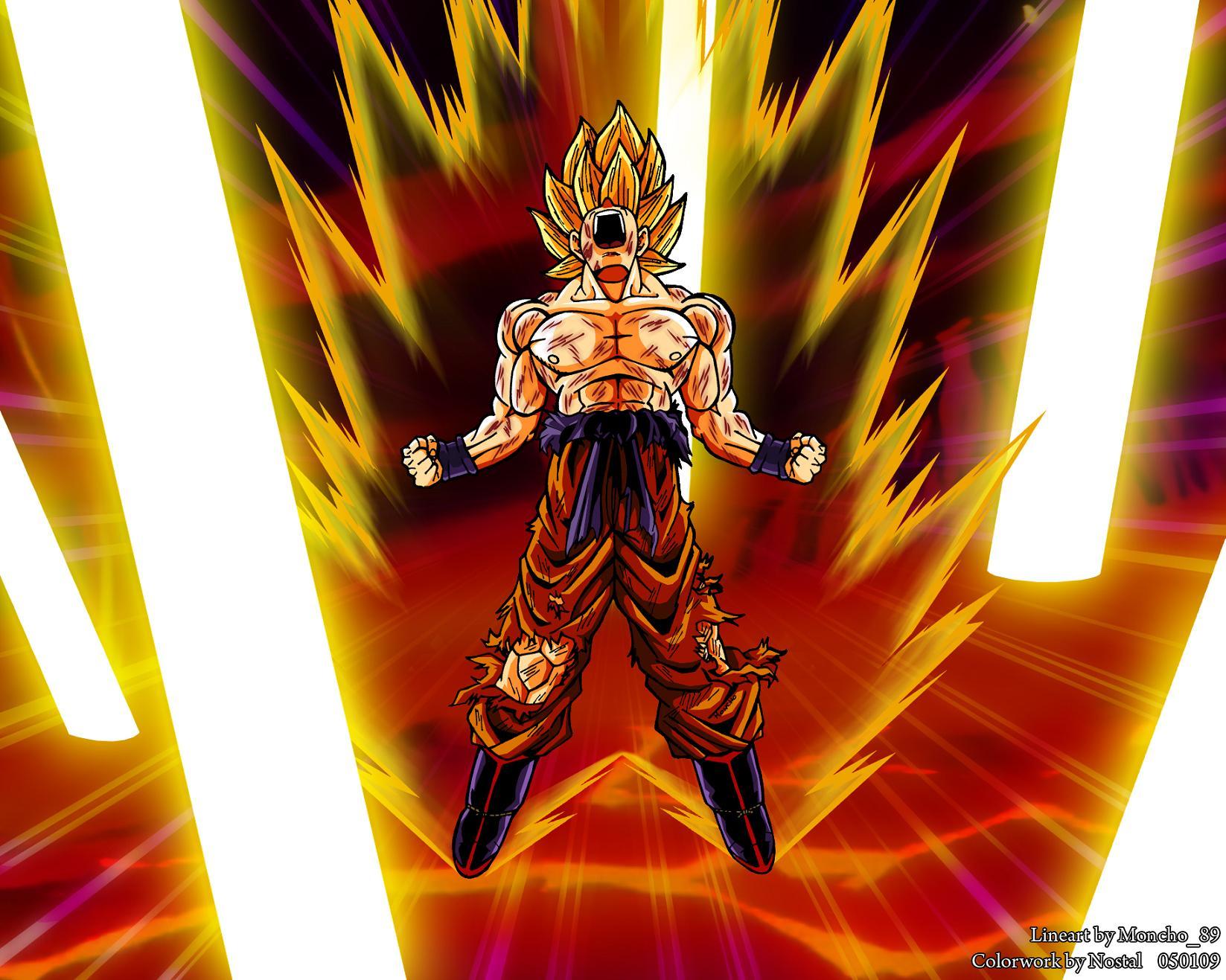 Goku Y Todas Sus Fases: Todas Las Fases De Goku Y Vegeta (Fusiones)