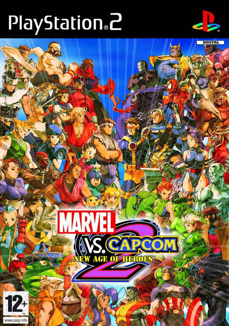 Marvel vs Capcom 2 -N CoverArt by Nostal on DeviantArt