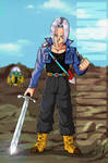 Dragonball Mirai Trunks