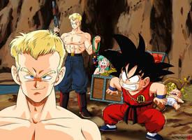 Son Goku vs Blue Shogun