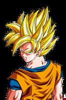 Son Goku ssj - Raging Blast HD by Nostal