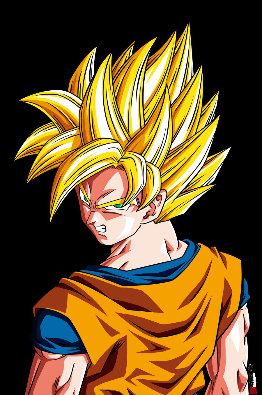 Son Goku ssj  Raging Blast HD by Nostal on DeviantArt