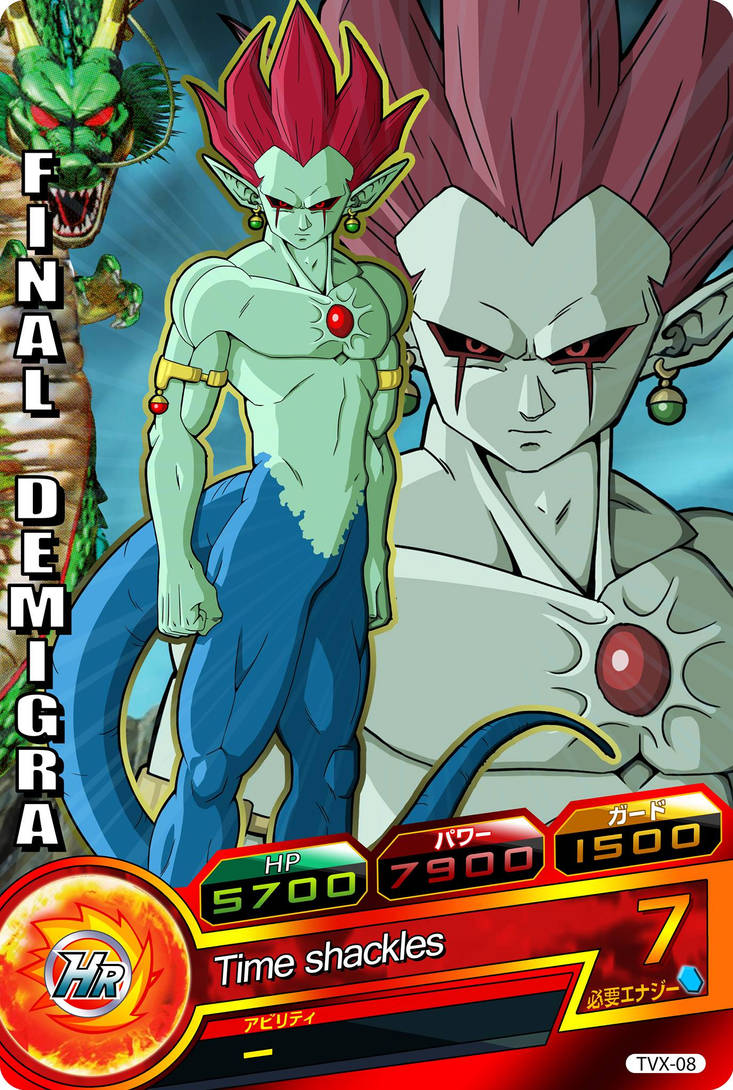 Final Demigra (Dragon Ball Heroes fancard) by Nostal