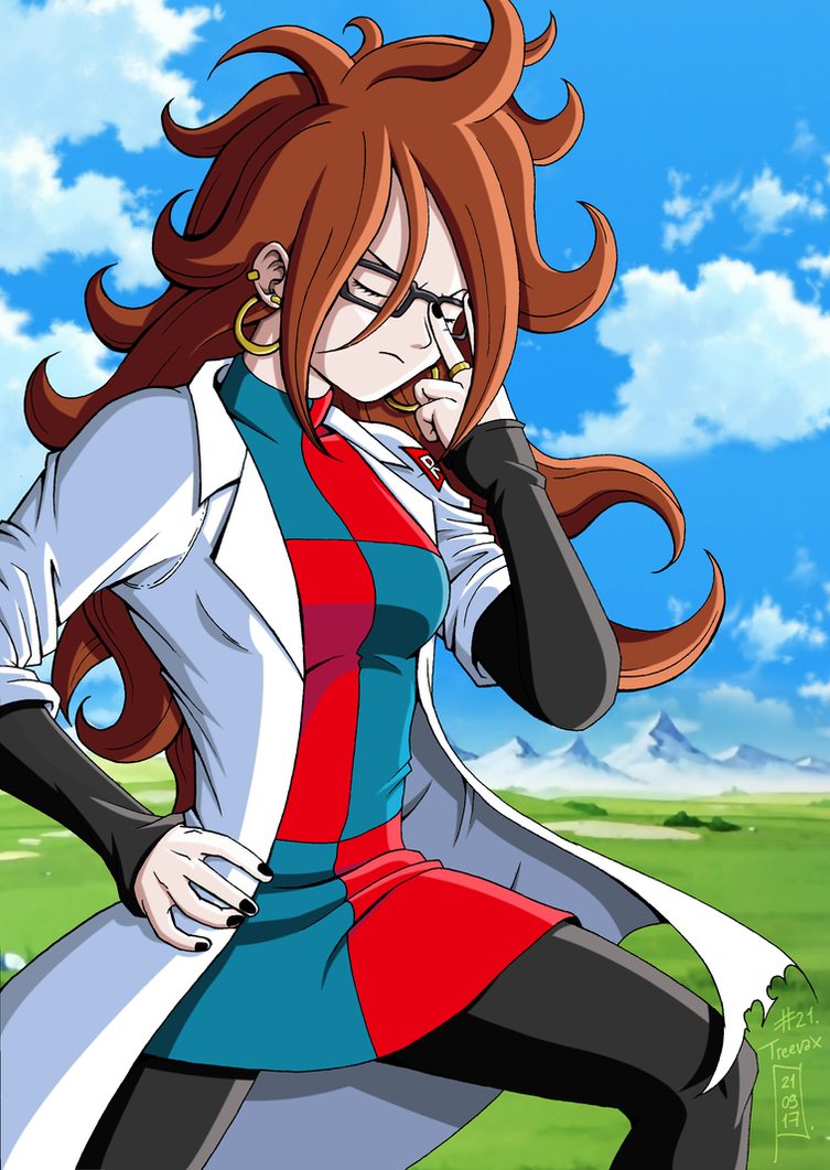 Android 21 - Dragon Ball FighterZ by Nostal