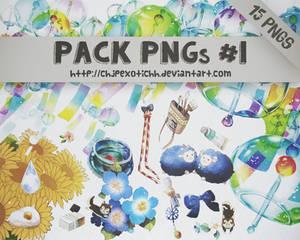 Pack PNGs #1: 15 PNGs
