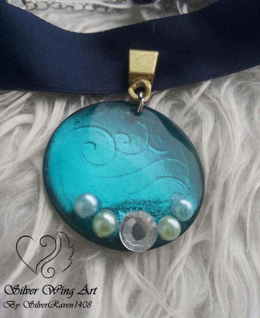 katara s necklace by silverraven1408 on deviantart