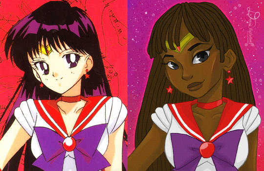 Sailor Mars - Roho