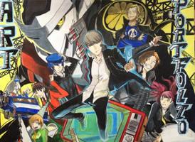 Persona 4 Art Portfolio~ by The-swift-alchemist