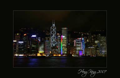 Famous HongKong Harbourview