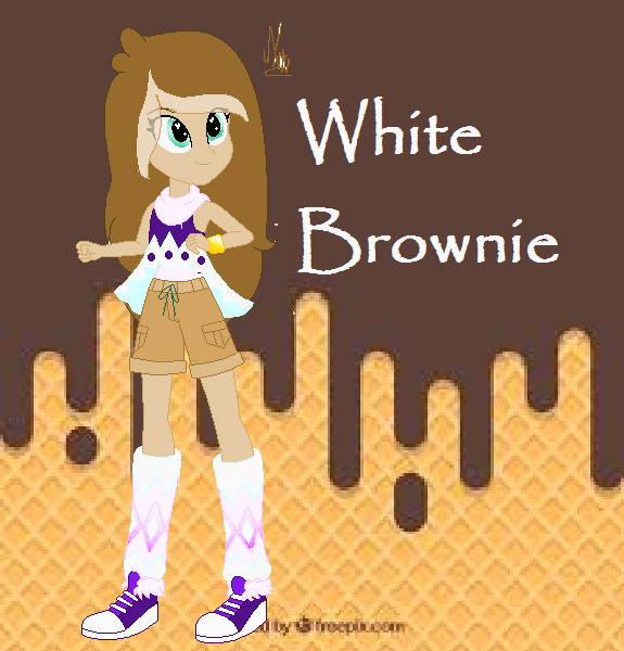 Whithe Brownie by MINA212