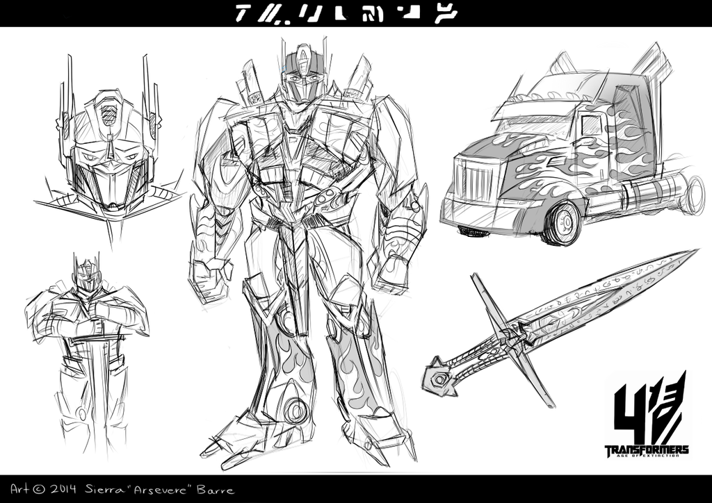 TF4- Optimus Prime by Arsevere