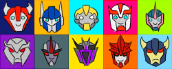 Transformers Prime Icons- FREE by Arsevere