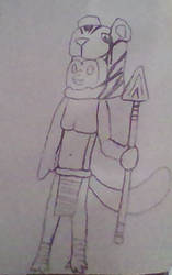 My Starbound character by A-Gaming-Fox22