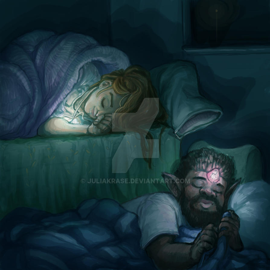 Sleepover by juliakrase