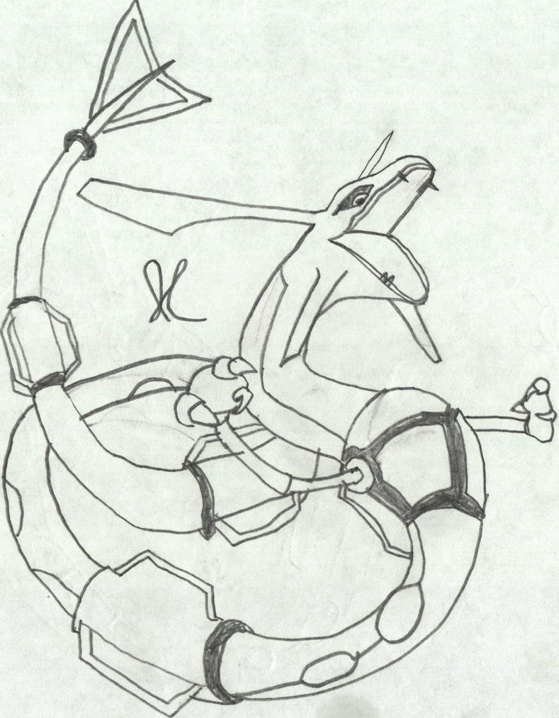 M chibi pokemon rayquaza coloring pages coloring pages for Rayquaza coloring pages